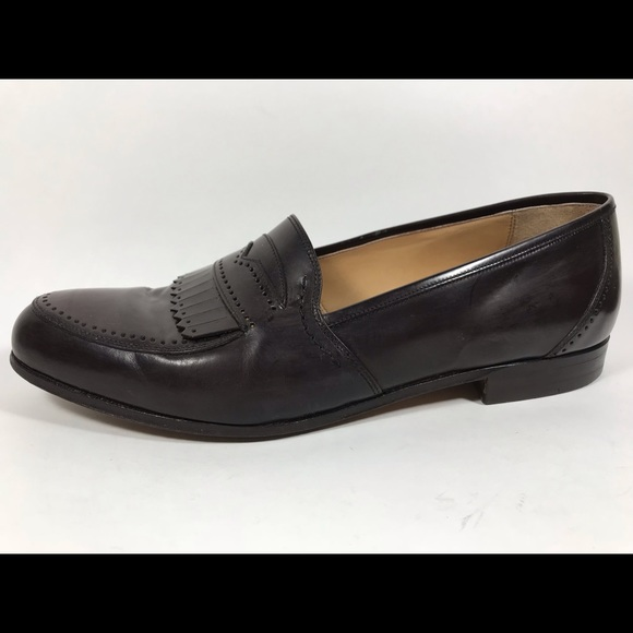 c0e2a7dccbab5 Bally Decca Brown Leather Loafers Men's Sz 9.5D